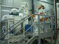 500-700kgh wood pellet mill