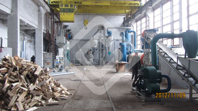 Pellet Mill Plant Equipment