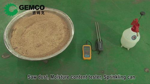 prepare sawdust